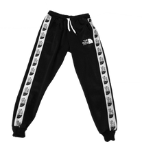 Load image into Gallery viewer, The Bull City Poly Fleece Track Suit (Black)