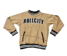 Load image into Gallery viewer, BULLCITY VARSITY STITCH Cotton Fleece Suit (NUDE/BLACK)