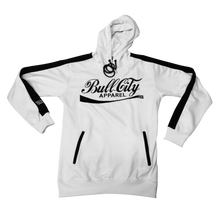 Load image into Gallery viewer, BullCity Cola Hoodie Track Suit (WHITE/BLACK)