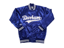 Load image into Gallery viewer, Durham Dodgers Satin Jacket ( Nipsey Blue)