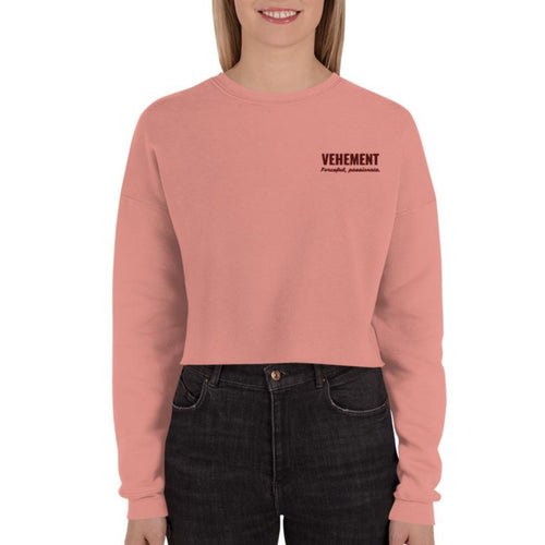 Vehement - crop sweatshirt