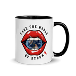 Take the world coffee mug