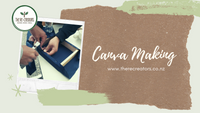Zero Waste Canvas Making