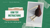 Upcycled Kiwi Toy Instructions
