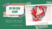 DIY No Sew Scarf Instructions