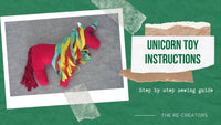 Upcycled Unicorn Toy Instructions