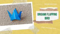 Upcycled Origami - Flapping Bird