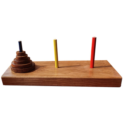 Tower of Hanoi Wooden Puzzle