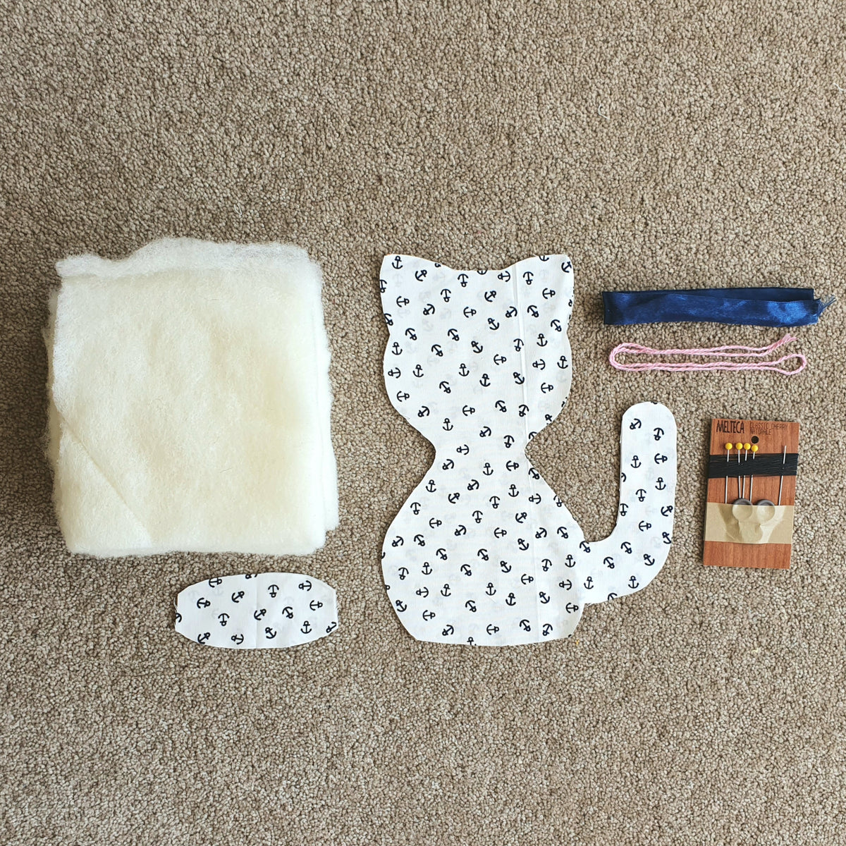 DIY Upcycle Cat Toy Sewing Kit