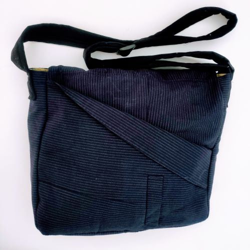 Suit Hand Bag Navy Blue