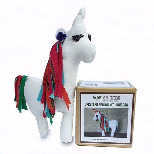 DIY Upcycle Unicorn Toy Sewing Kit