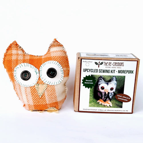 DIY Upcycle Morepork Toy Sewing Kit