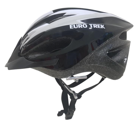 Helmet - Modern slick Euro style lightweight helmet, Designed for bikes and scooters use.