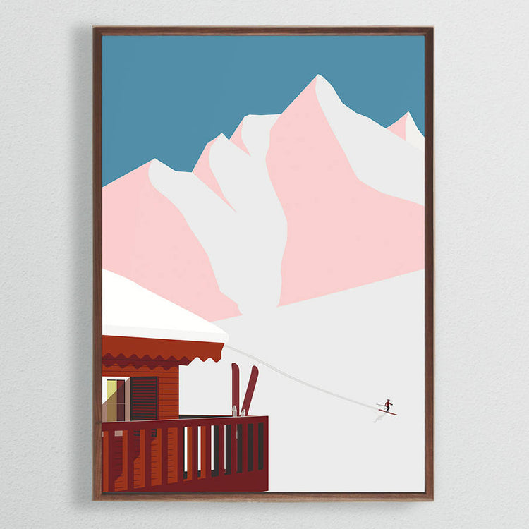 Affiche 'Mountain Cabin'
