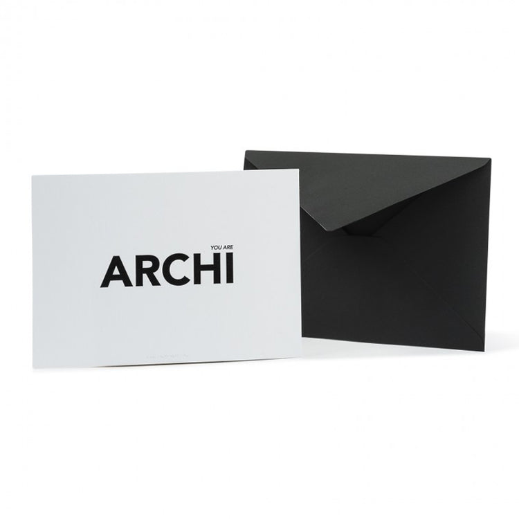 Carte de souhait 'You are archi' [Architecture]