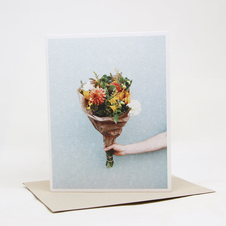 Carte de souhait photo 'Bouquet'