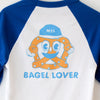 Chandail baseball 'Bagel lover'