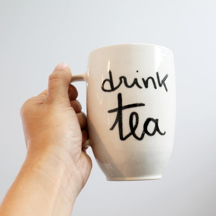 Tasse céramique 'Drink tea'