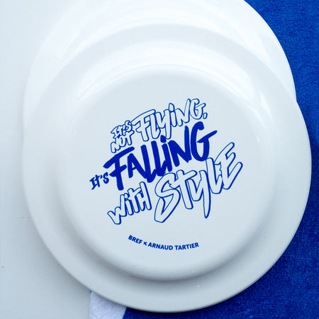 Frisbee 'It's not flying it's falling with style'