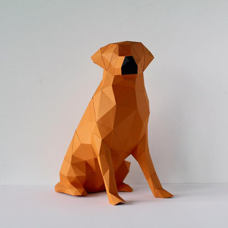 Animal 3D à assembler 'chien Labrador'