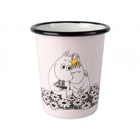 Tasse émail Moomin 'Together forever'