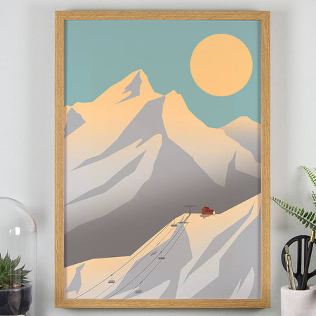 Affiche 'Autumn In The Alps'