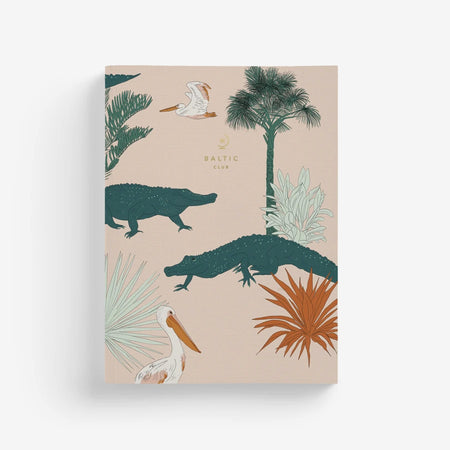 Carnet de notes 'Crocodiles des Keys'