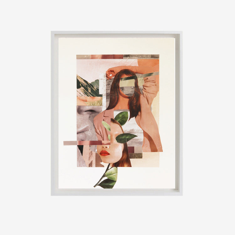 Affiche collage 'Modern Venus'