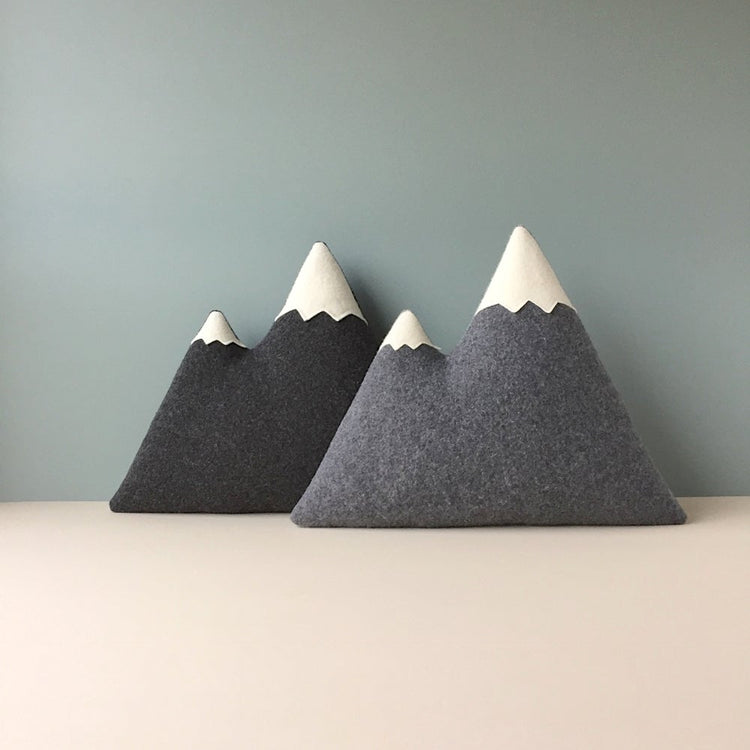Coussin montagnes 'the Peaks'