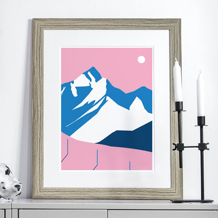 Affiche 'Top of the Mountains'