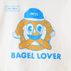 T-shirt 'Bagel lover'
