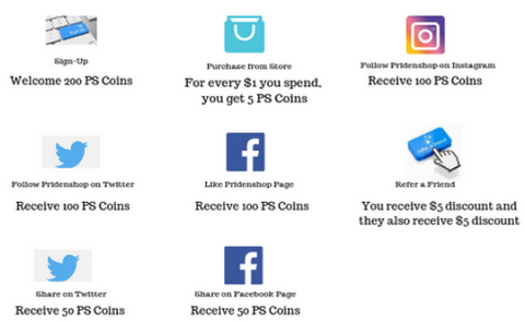 Pride Club - How to earn PS Coins