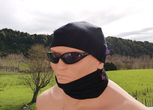 Merino cap and wrap