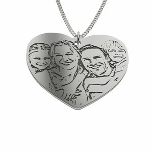 Love Family Photo Pendant
