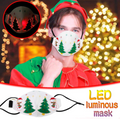 Christmas LED Holiday Mask
