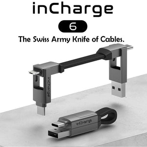 InCharge 6 Multi-function Data Cable