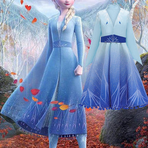 Vision Trendz™ New Frozen 2 Elsa Dress