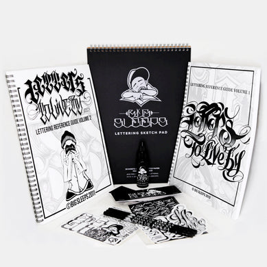 Lettering Pad Bundle - Big Sleeps Ink