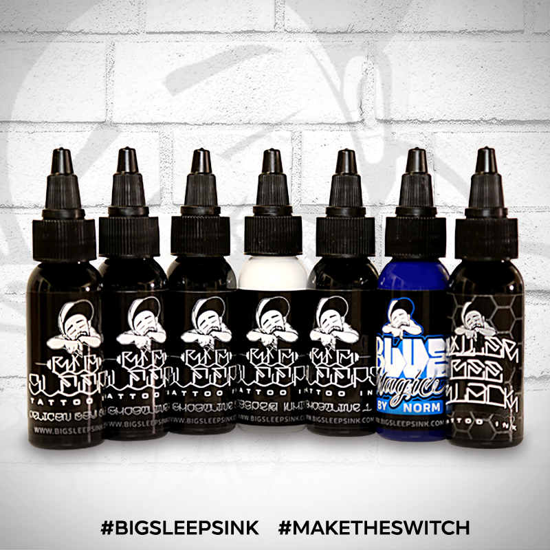 Super Set - Big Sleeps Ink