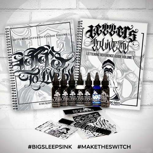 Fathers Day Gift Set - Big Sleeps Ink