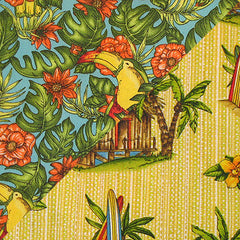 ·Fabric Collection· Huts and Toucans