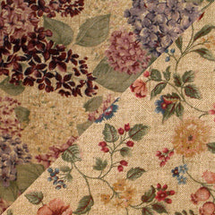 ·Fabric Collection· Hydrangea tan