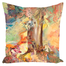 Load image into Gallery viewer, Zippered Throw Pillows - Tree of Knowledge