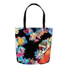 Load image into Gallery viewer, Tote Bags - Black Heart Collage