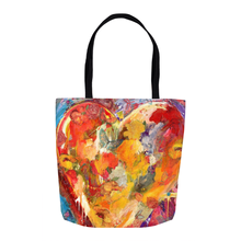 Load image into Gallery viewer, Tote Bags - Heart of Hearts