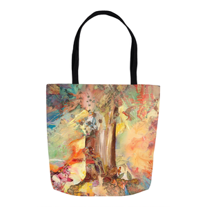 Tote Bags - Tree of Knowledge