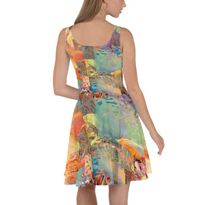 Skater Dress - Tree of Knowledge