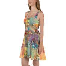 Load image into Gallery viewer, Skater Dress - Tree of Knowledge