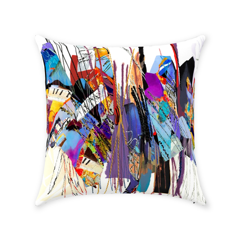 Zippered Throw Pillows - Absolute Obsession