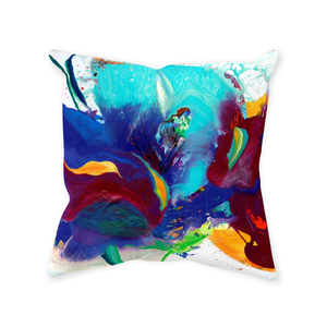 Sewn Throw Pillows - Iris
